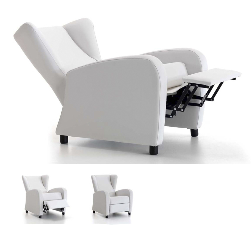Sill n reclinable con funci n relax sill n peque o y grande - Sillones de descanso y relax ...